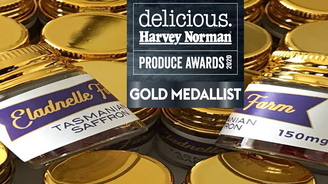 Gold Medalist win in Delicious. Harvey Norman Produce Awards.
