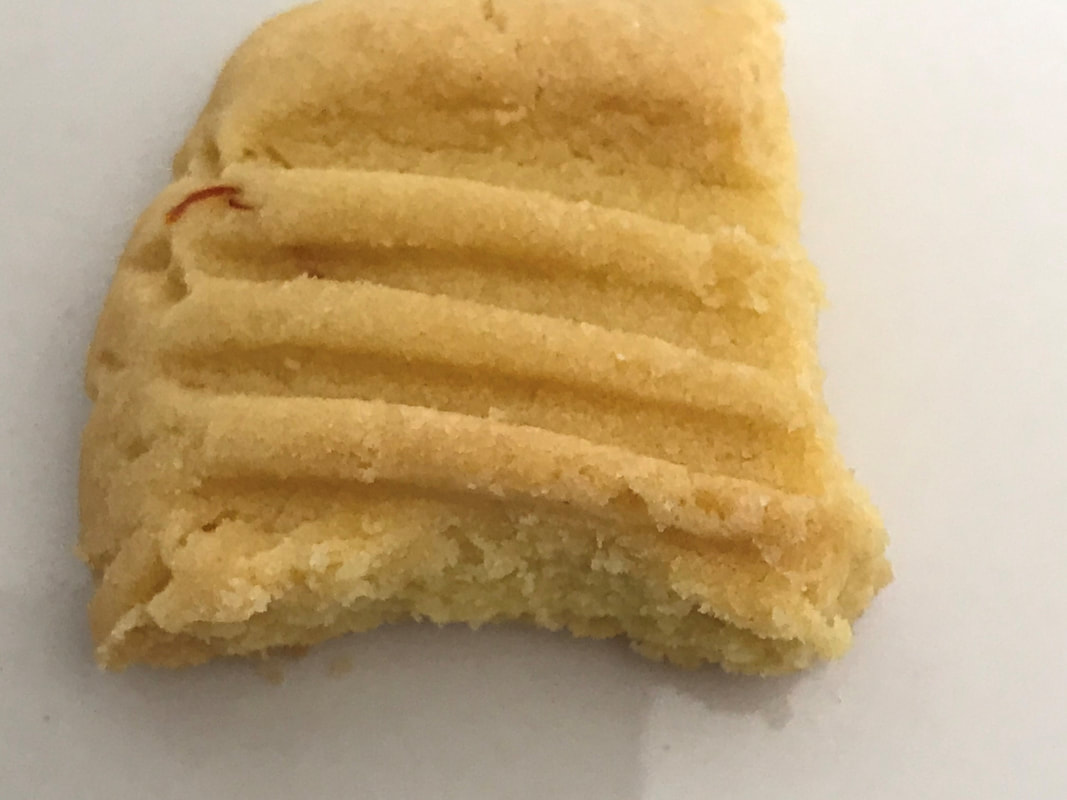 Aunt's Shortbread with Eladnelle Saffron