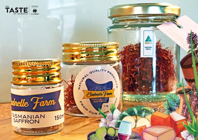 Saffron From Eladnelle Farm range, The Taste of Tasmania 2019-20